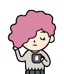 송작가 캐릭터